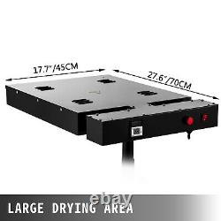 16X16 SilkScreen Flash Dryer Printing Curing DIY T-Shirt Machine Heating US