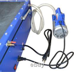 19.6x23.6 Vacuum Exposure Unit Screen Printing Plate Making Machine LED light