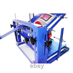 1 Color Hat printer Screen Printing Machine Baseball Cap Arc-shaped Press Tool