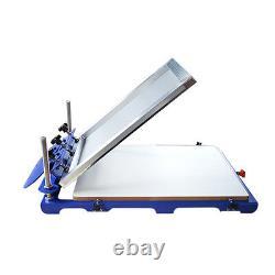 1 Color Screen Printing Kit Oversize Press Printer & Start Hobby Ink Materials