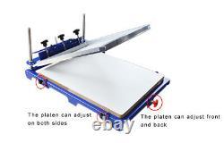 1 Color Screen Printing Machine 20 x 24 Pallet Silk screen Press Printer
