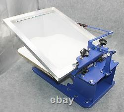 1 Color Screen Printing Machine Tilting Press Printer Adjustable Handle Shirt