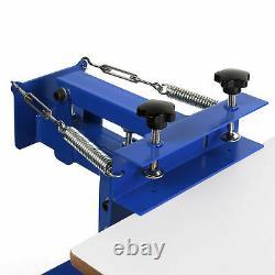 1 Color Screen Printing Press Kit Machine 1 Station Silk Screening Pressing DIY