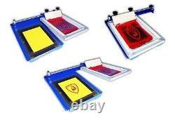1 Color Sliding Silk Screen Printing Machine T-Shirt Printer Equipment