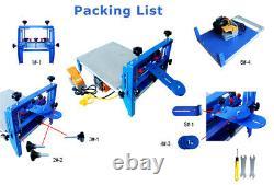 1 Color Vacuum Pallet Screen Printing Press Printer Micro-adjust Press 16x20