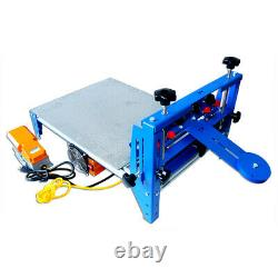 20 x 24 Micro-adjustable Screen Printer with Vacuum Pallet Foot Switch