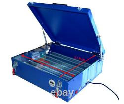 21X 25 Screen Printing Exposure Unit LED Light Plate Curing Machine with Cover