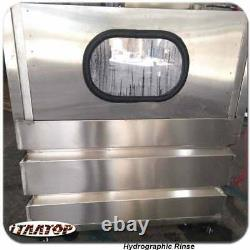 3.93ft Hydro Dipping Rinsing with Automatic Door Water Rinse Station Machine