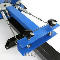 4 Color 1 Station Screen Printing Machine 6pcs 160 Mesh Screen Printing Screens