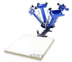 4 Color 1 Station Screen Printing Press Four Machine Equipment THE SPRINGER