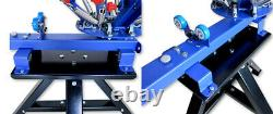 4 Color 1 Station Screen Printing Press Holder Metal Stand for Print Machine 16