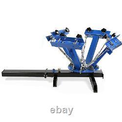 4 Color 1 Station Silk Screen Printing Machine Press Flash Dryer Equipment DIY