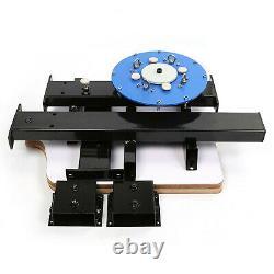 4 Color 2 Station Silk Screen Printing Machine Press T-Shirt Printing Equipment