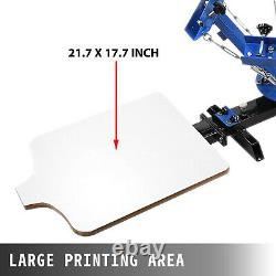 4 Color 2 Station Silk Screen Printing Machine Print Manual Printing WELL MADE