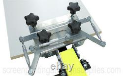 4 Color 4 Station Screen Printing Press Four Machine KICKER MICRO REGISTRATION