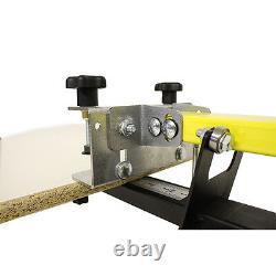 4 Color 4 Station Screenprint Screenprinter KICKER Machine Equipment 4X4 Press