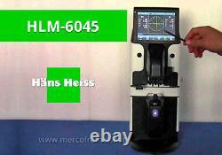 7'' Big Touch Screen Optical Digital Auto Lensmeter Lensometer PD UV + Printer