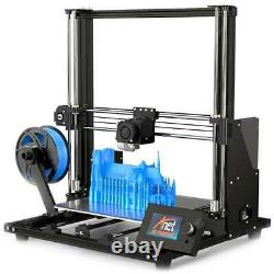 Anet A8 Plus 300300350mm Upgraded 3D Printer Magnetic Move Screen Dual Z-axis