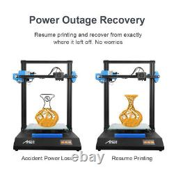 Anet ET5X DIY 3D Printer with 300300400mm Print Size 3.4-inch Touch Screen