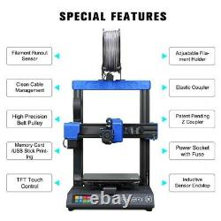 Artillery Genius 3D Printer TFT Screen Dual Z-Axis 220220250mm Printing Size