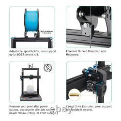 Artillery Sidewinder X1 V4 3D Printer 300300400mm Printing Dual Z Touch Screen