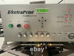 Brown ElectraPrint Automatic Textile Printer -Screen Printing- (1 years old)