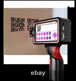 CNCOLETECH 5 Large Touch Screen Handheld Inkjet Printer Ink Date Code Machine