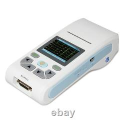 CONTEC ECG90A Portable ECG machine 3/6/12 lead Touch Screen+Printer+PC Software