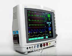 Contec CMS8000 Patient Monitor FDA ICU Capnography PRINTER TOUCH SCREEN CO2