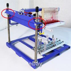 Curved Screen Printing Machine Manual Cylinder Press Printer Kit 170mm Diameter