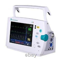 Datex Ohmeda S/5 Light Patient Monitor ECG, SpO2, NiBP, Printer, Color Screen