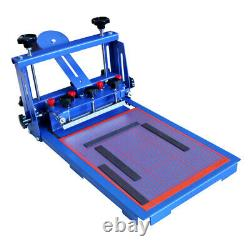 Desktop 1 Color Micro-registration Screen Printing Machine Silk Press Printer