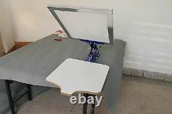 Desktop 1 Color Silk Screen Printing Machine T-shirt Pallet Press LOGO Machine