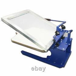Desktop 1 Color Silk T-Shirt Screen Printing Machine DIY Fabric Press Machine