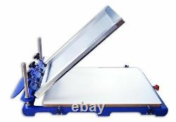 DoAsion Screen Printing Machine 1 Color Large Silk Screen Printing Press Machine