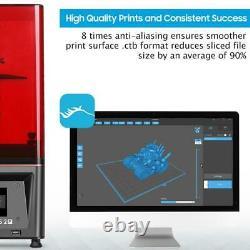 ELEGOO MARS 2 PRO UV Photocuring LCD Resin 3D Printer with 6 inch LCD Screen