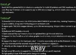 EU-STOCK! 32BIT DUET 2 WIFI V1.04 4.3/7.0 Touch Screen Duex5 3D Printer Drucker