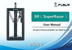 FLSUN SR Super Racer Delta 3D Printer Fast Print Touch Screen 260330