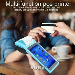 For Android 6.0 POS Terminal Handheld Thermal Receipt Printer 5inch Touch Screen