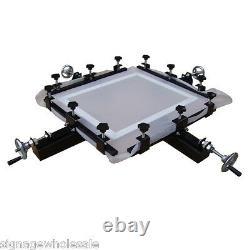 High Precise 24x24 Manual Screen Stretching Machine Screen Printing Stretcher
