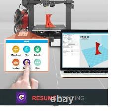 LONGER 3D Printer LK4 FDM 3D Printer Touch Screen 3D Printing V-slot Resume Prin