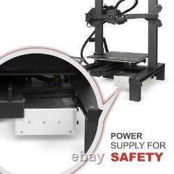 Longer FDM LK4 3D Printer DIY 220x220x250mm with 2.8 Touch Screen PLA Filament