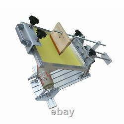 Manual Cylinder Screen Printing Machine+6 Squeegee for Pen / Cup / Mug / Bottle
