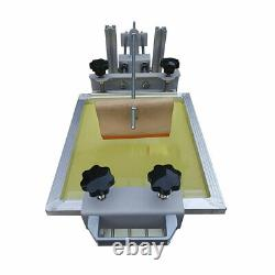 Manual Cylinder Silk Screen Printing Machine for Pen / Cup / Mug / Bottle