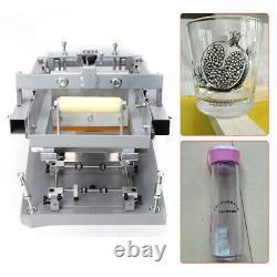 Manual Screen Printing Machine Round Bottle Printer Screen Curve press for Pen