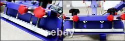 Micro Registration 4 Color 1 Station Screen Printing Machine DIY Press Printer