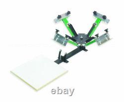 Screen Printing Press 4 X 1 4 color equipment machine press MADE IN USA