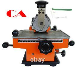 Semi-automatic Plate Embossing Machine Metal Marking Machine Stamp Screen Print