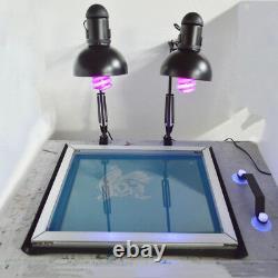 Simple Model Exposure Unit Screen Printing Machine Plate Making UV Light 20x24