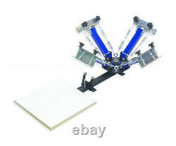 Springer Four Color One Station Screen Printing Press Machine Printer w-TILT ADJ